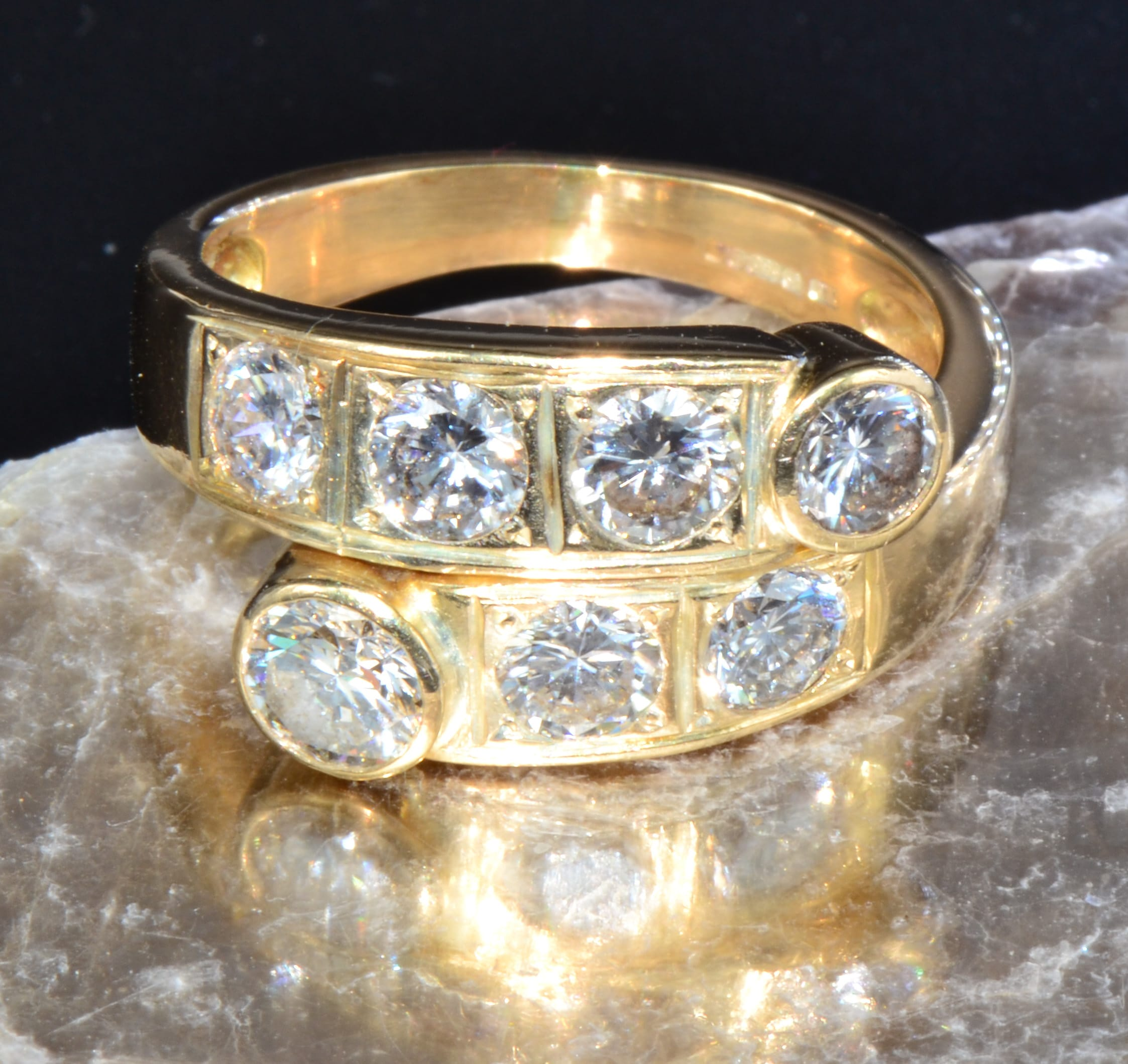 Best Gold diamond ring close cropped