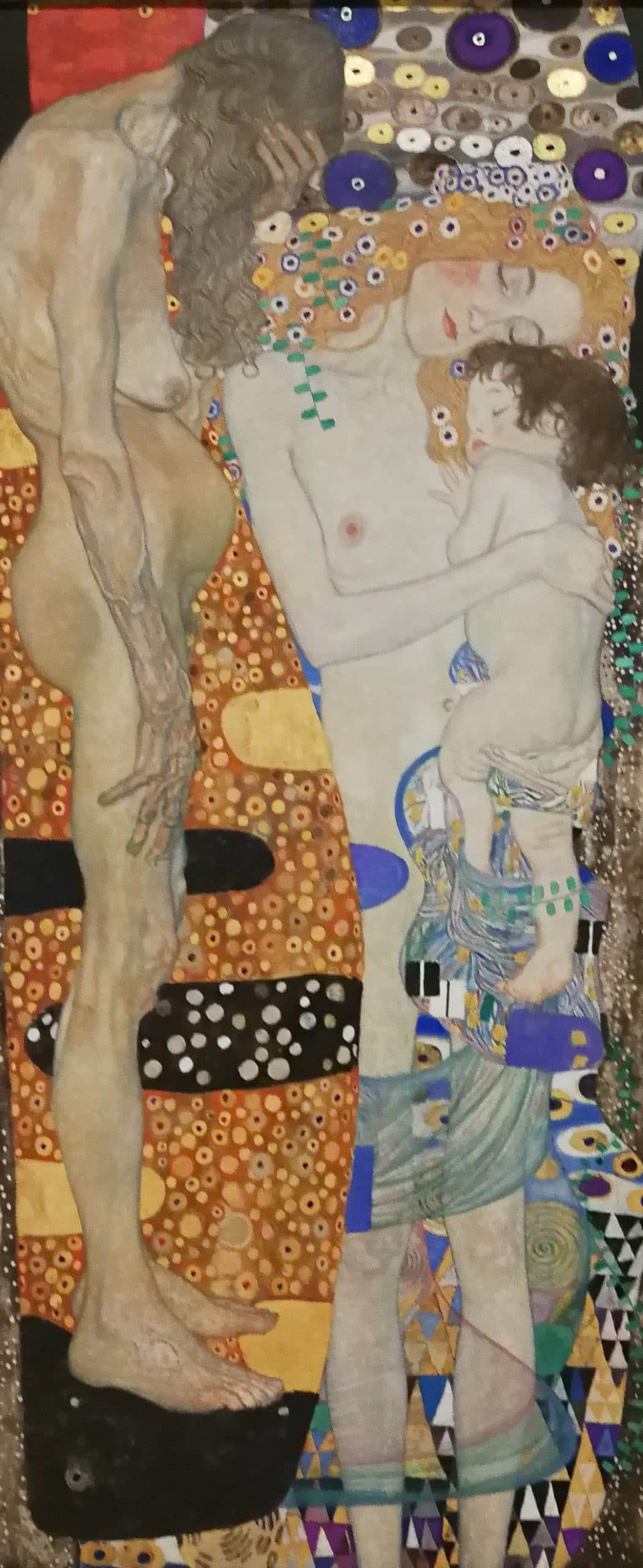 Gustav Klimt The 3 ages of woman