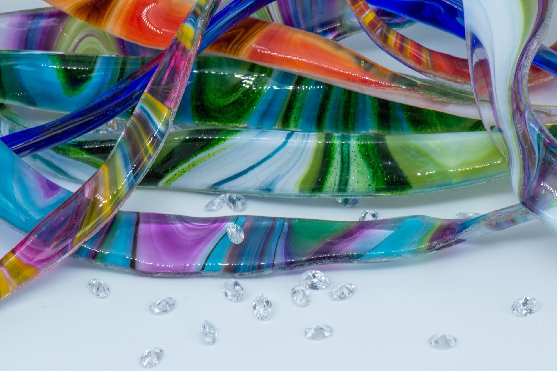 Shards of Maltese glass