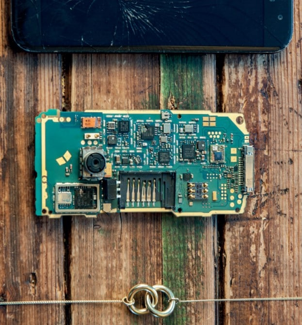 e-waste to jewellery